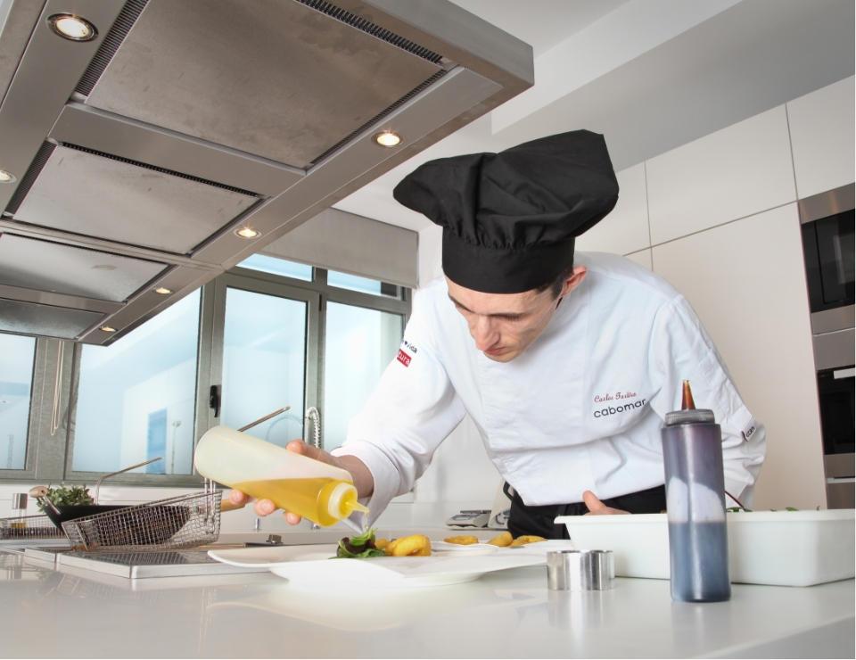 cocina innovacion kitchen innovation chef Cabomar