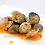 almeja tailandia cocinada cooked thailand clams