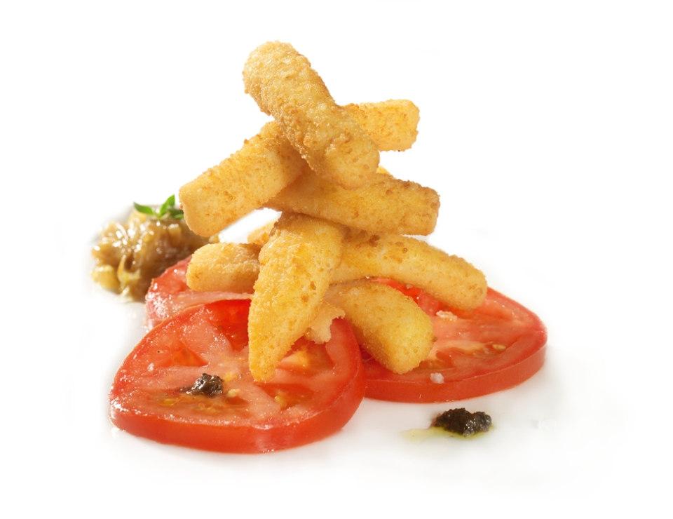 rabas empanadas cocinadas cooked squid strips