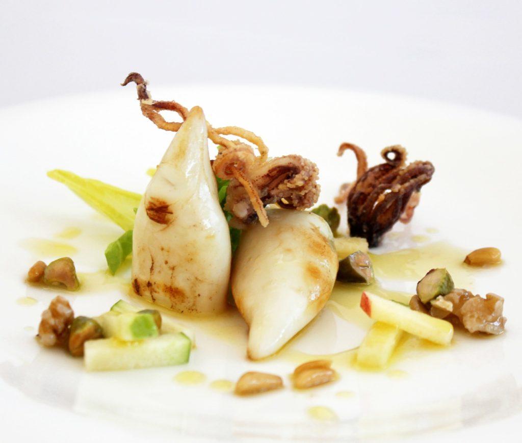calamar t&t cocinado cooked t&t squid