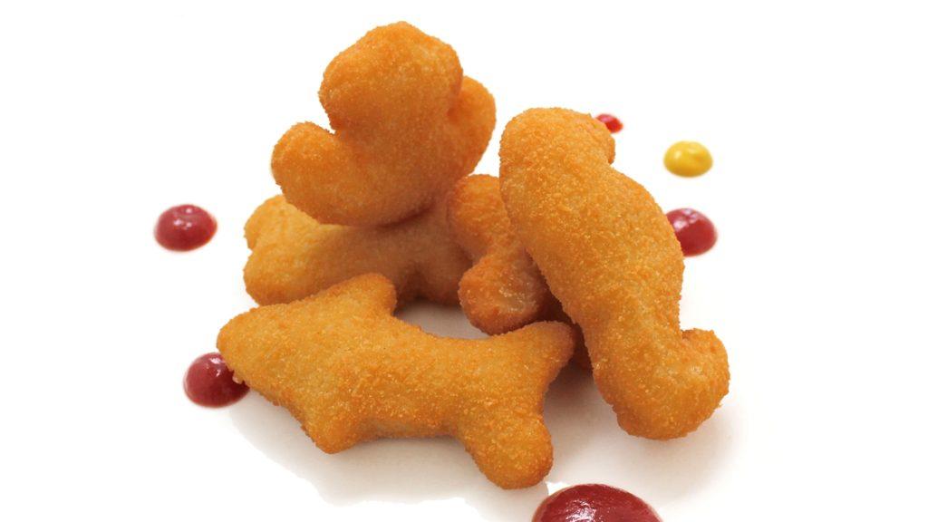 figuritas de pescado cocinadas cooked funny fish shapes