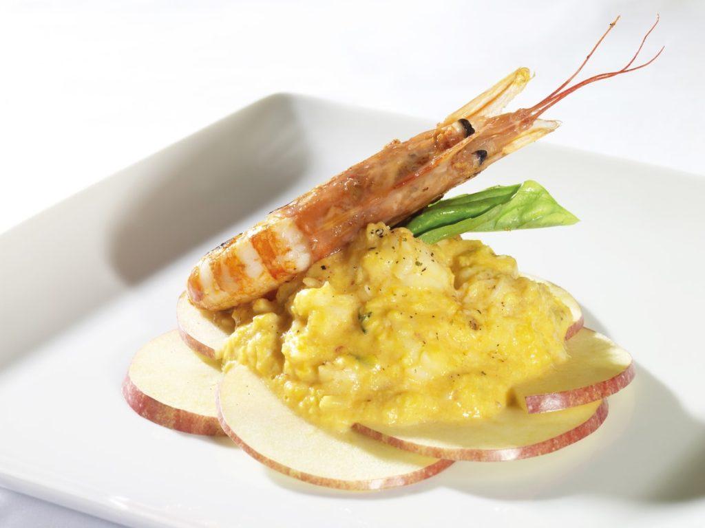 gambon argentino cocinado cooked argentinian red shrimp