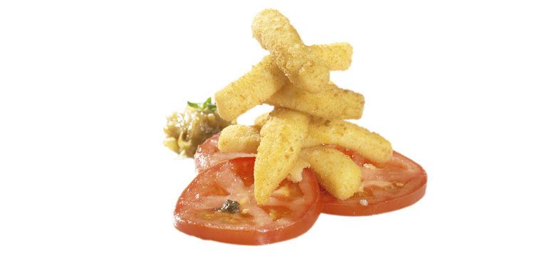 pescado precocinado par-fried seafood