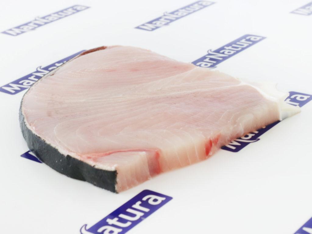 rodaja de marrajo shortfin mako shark slice